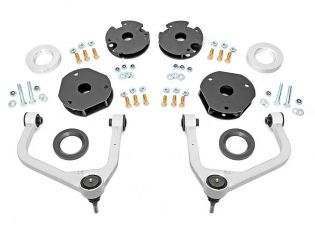 """3.5"""" 2021 Chevy Tahoe 4WD Lift Kit w/Forged Upper Control Arms by Rough Country"""