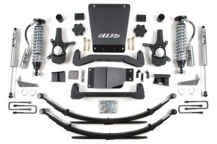 """6"""" 2007-2013 GMC Sierra 1500 4WD Fox Coil Over Lift Kit by BDS Suspension"""