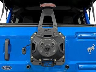 2021 Ford Bronco 4WD Spare Tire Relocation Bracket by Rough Country