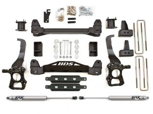 """4"""" 2009-2013 Ford F150 2WD Lift Kit by BDS Suspension"""
