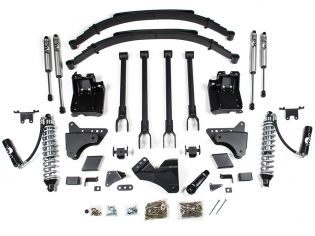 """8"""" 2011-2016 Ford F250/F350 4WD CoilOver 4-Link Lift Kit by BDS Suspension"""
