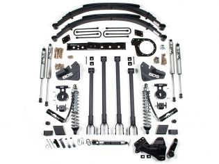 """6"""" 2017-2019 Ford F250/F350 4WD (w/diesel engine) 4-Link CoilOver Lift Kit by BDS Suspension"""