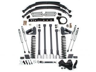 """6"""" 2017-2019 Ford F250/F350 4WD (w/diesel engine) 4-Link Lift Kit by BDS Suspension"""