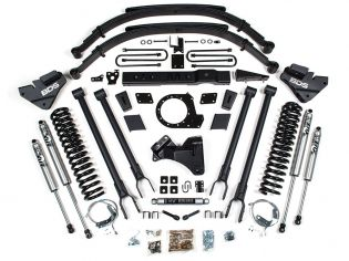 """8"""" 2017-2019 Ford F250/F350 4WD (w/diesel engine) 4-Link Lift Kit by BDS Suspension"""