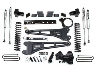 """6"""" 2020-2022 Ford F250/F350 (w/diesel engine) 4WD Radius Arm Lift Kit by BDS Suspension"""