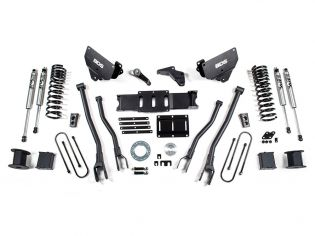 """6"""" 2013-2018 Dodge Ram 3500 Diesel (w/Rear Air-Ride) 4WD 4-Link Lift Kit by BDS Suspension"""