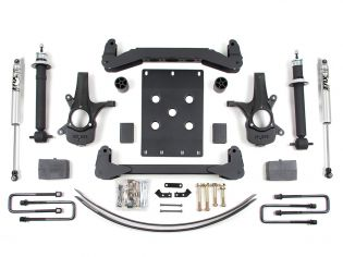 """6"""" 2007-2013 Chevy Silverado 1500 2WD High Clearance Lift Kit by BDS Suspension"""