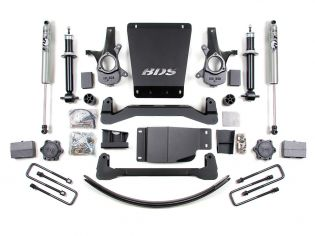 """6"""" 2007-2013 Chevy Silverado 1500 4WD High Clearance Lift Kit by BDS Suspension"""