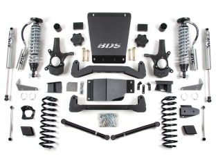 """6"""" 2007-2014 GMC Yukon XL 1500 4WD Coil-Over Lift Kit by BDS Suspension"""