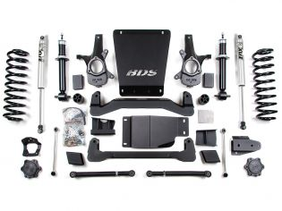 """6"""" 2007-2013 Chevy Avalanche 1500 4WD Lift Kit by BDS Suspension"""