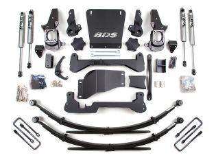 """7"""" 2001-2010 Chevy Silverado 2500HD 4WD High Clearance Lift Kit by BDS Suspension"""
