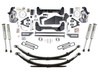 """6"""" 1988-1998 Chevy 1500/2500 Pickup 6 lug 4WD Lift Kit by BDS Suspension"""