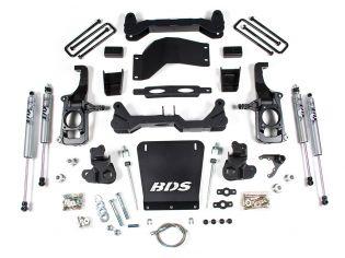 """4.5"""" 2011-2019 GMC Sierra 2500HD/3500HD 4WD & 2WD Lift Kit by BDS Suspension"""