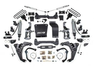 "6.5"" 2011-2019 Chevy Silverado 2500HD/3500HD Fox CoilOver Lift Kit by BDS Suspension"
