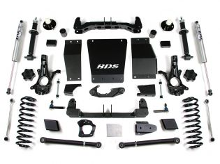 """6"""" 2015-2019 Chevy Suburban/Tahoe 1500 4WD Lift Kit by BDS Suspension"""