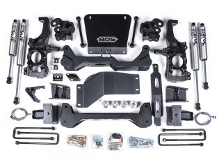 "6.5"" 2020-2021 Chevy Silverado 2500HD/3500HD 4WD Lift Kit by BDS Suspension"