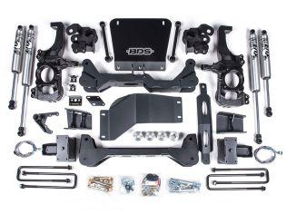 """6.5"""" 2020-2021 GMC Sierra 2500HD/3500HD 4WD Lift Kit by BDS Suspension"""