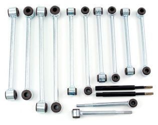 """Avalanche 1500 2000-2006 Chevy w/ 4.5-6.5"""" Lift 4WD - Front Sway Bar End Links by BDS Suspension"""