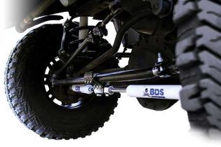 Grand Cherokee WJ 1999-2004 Jeep 4WD - Dual Steering Stab Brckt by BDS Suspension