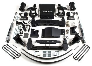"""8"""" 2014-2018 Chevy Silverado 1500 4WD Lift Kit by BDS Suspension"""