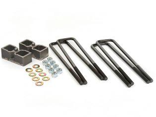 """2"""" 2011-2019 Chevy Silverado 2500HD/3500HD 4WD Rear Block Kit by Daystar"""