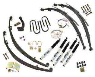 """6"""" 1974-1977 Dodge Ramcharger/Trailduster 4WD Premium Lift Kit w/ 52"""" Rr Springs by Jack-It"""