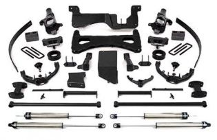 """8"""" 2007-2008 Chevy Silverado 2500HD 4WD Upgraded Performance Lift Kit by Fabtech"""
