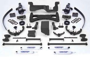 "8"" 2001-2006 Chevy Silverado 2500HD 4WD Performance Lift Kit by Fabtech"
