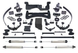 """8"""" 2001-2006 Chevy Silverado 3500 4WD Upgraded Performance Lift Kit by Fabtech"""