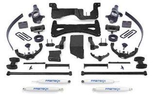 "8"" 2007-2008 Chevy Silverado 2500HD 4WD Performance Lift Kit by Fabtech"