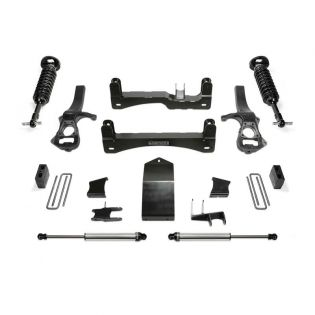 """4"""" 2019-2021 Chevy Silverado 1500 Trail Boss Coilover Lift Kit by Fabtech"""