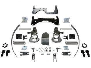 "6"" 2014-2018 GMC Denali 1500 4WD (w/cast steel factory arms) Basic Lift Kit by Fabtech"