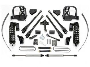 """8"""" 2008-2010 Ford F250 4WD (w/ Factory Overload) 4 Link Upgraded Lift Kit by Fabtech"""