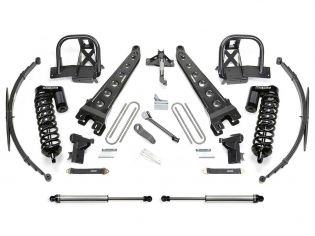 """8"""" 2008-2010 Ford F250/F350 4WD Upgraded CoilOver/Arm Lift Kit by Fabtech"""