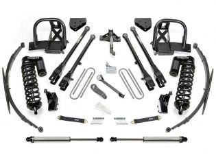 """8"""" 2008-2010 Ford F250/F350 4WD Upgraded CoilOver/4 Link Lift Kit by Fabtech"""