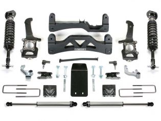 """6"""" 2014 Ford F150 SuperCrew 4WD CoilOver Lift Kit by Fabtech"""