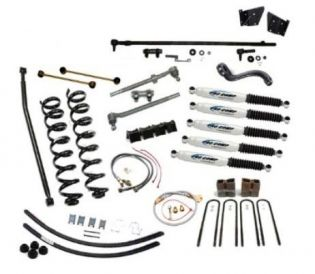 """5"""" 1966-1975 Ford Bronco 4WD Deluxe Lift Kit  by Jack-It"""