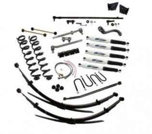 """5"""" 1966-1975 Ford Bronco 4WD Premium Lift Kit  by Jack-It"""