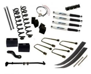 """7"""" 1966-1975 Ford Bronco 4WD Budget Lift Kit  by Jack-It"""