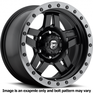 Anza Series D557 Matte Black Wheel D55715806537 by Fuel