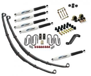 """2.5"""" 1967-1987 Chevy Blazer 4WD Deluxe Lift Kit by Jack-It"""