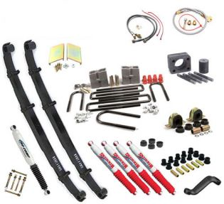 """8"""" 1977-1991 Chevy 1 ton Pickup 4WD Deluxe Lift Kit by Jack-It"""