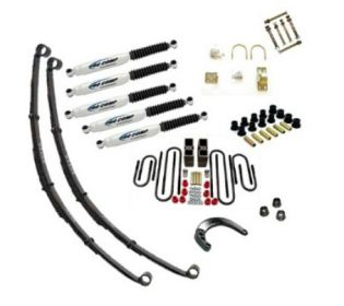 """4"""" 1967-1972 Chevy Suburban 1/2 & 3/4 ton 4WD Deluxe Lift Kit by Jack-It"""