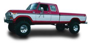 "4"" 1977.5-1979 Ford F250 Lo-Boy (Regular Cab) 4WD Budget Lift Kit by Jack-It"
