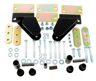 CJ5/7/8 1976-1986 Jeep Shackle Reversal Kit (for wider springs) by M.O.R.E.