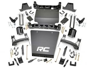 """7"""" 2014-2018 GMC Denali 1500 4WD (w/cast steel factory arms) - Lift Kit by Rough Country"""