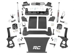 """6"""" 2019-2021 GMC Sierra 1500 4wd & 2wd (w/ARC & gas engine) Lift Kit by Rough Country"""