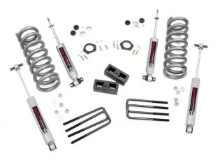 """2"""" 1992-1999 Chevy Suburban 1500 2WD Lift Kit by Rough Country"""