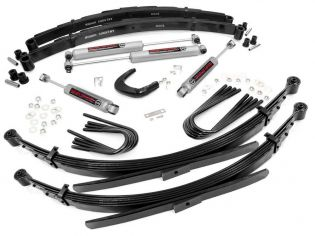 """4"""" 1988-1991 GMC 3/4 ton Pickup 4WD Lift Kit (w/ 52"""" Rr Springs) by Rough Country"""