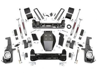 "7.5"" 2011-2019 GMC Sierra 2500HD/3500HD 4WD Lift Kit by Rough Country"